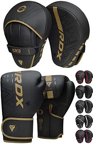 RDX Manoplas de Boxeo Paos Muay Thai Guantes Saco MMA Kick Boxing...