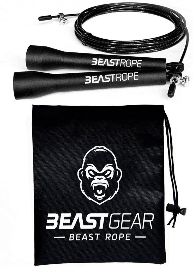 Cuerda para saltar de alta velocidad de Beast Gear.