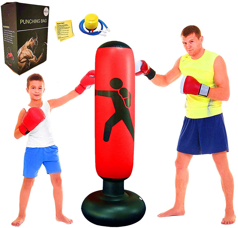 Saco de boxeo par aniños