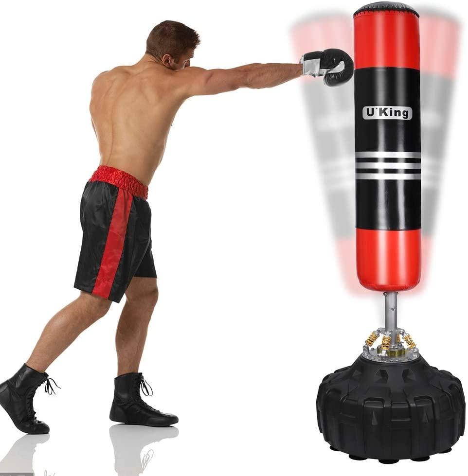 Saco de pie para boxear