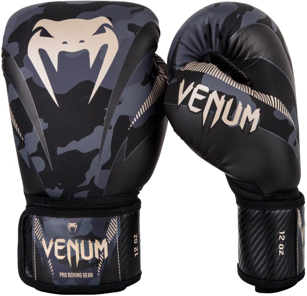 Guantes de Boxeo Venum Impact Camuflaje Oscuro